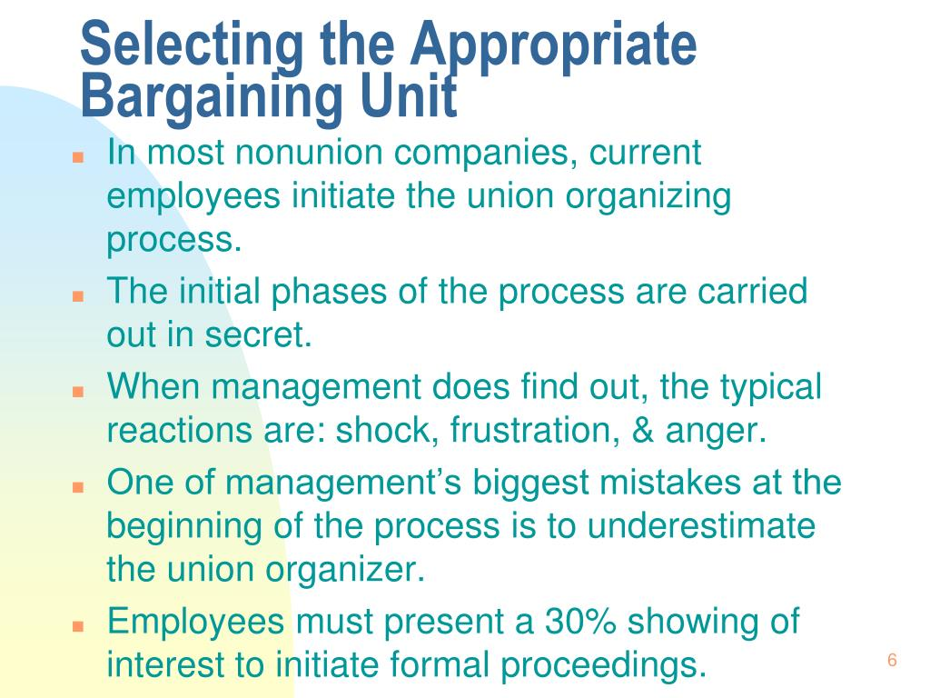 process for a labor union to enter a nonunion company What is the organizing process for a labor union to enter a nonunion company with the current legal environment, how are labor unions.