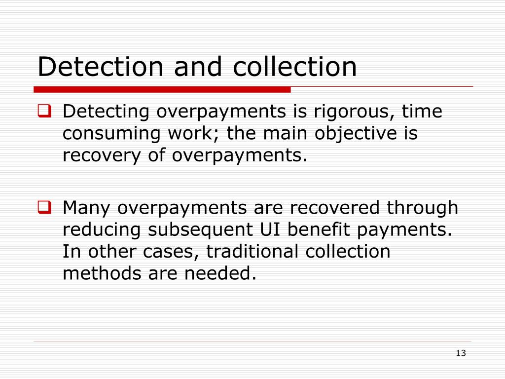 Detection and collection