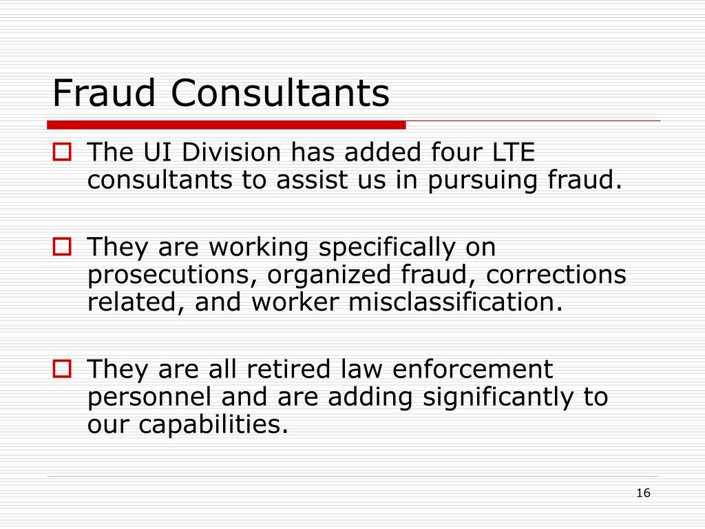 Fraud Consultants