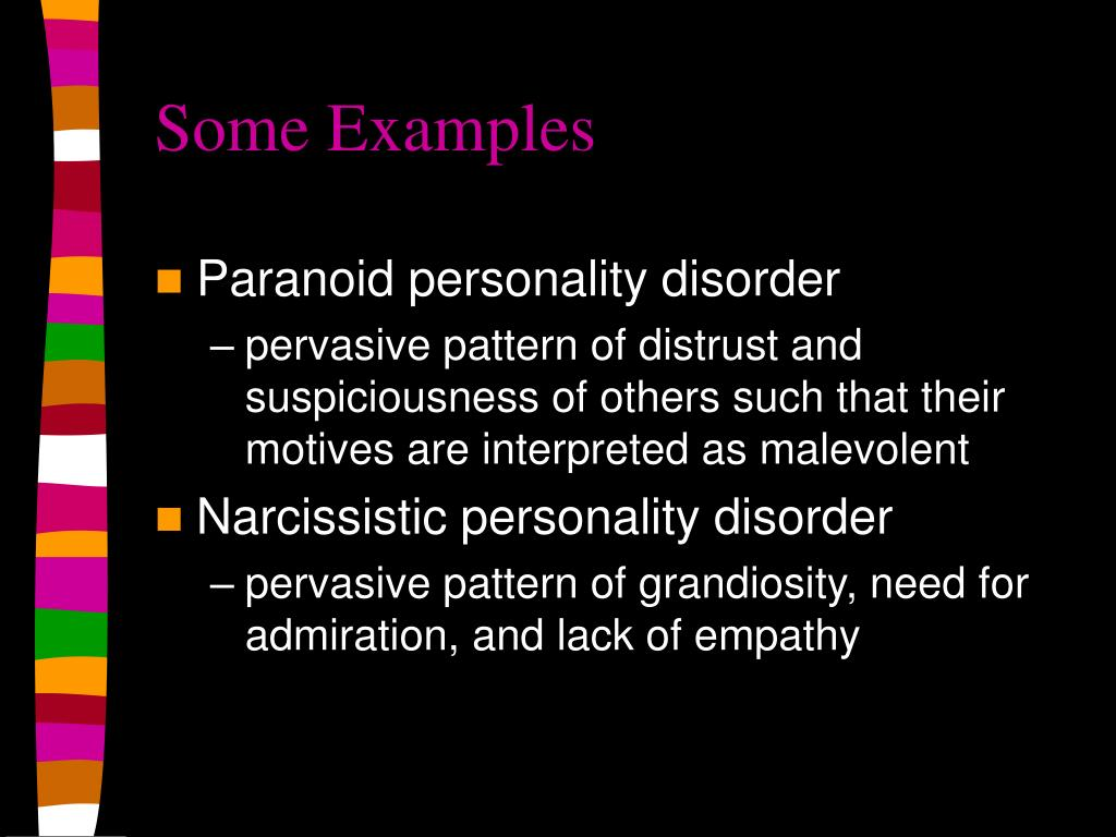 paranoid personality disorders essay