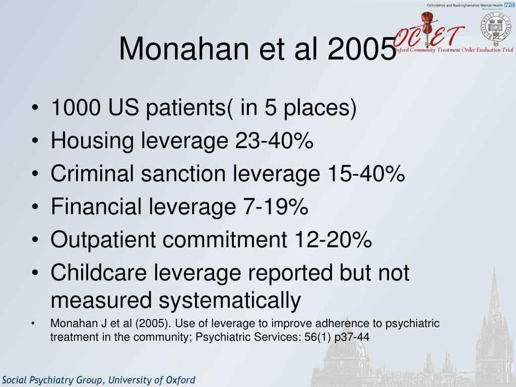 Monahan et al 2005