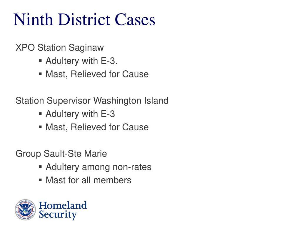 Ninth District Cases
