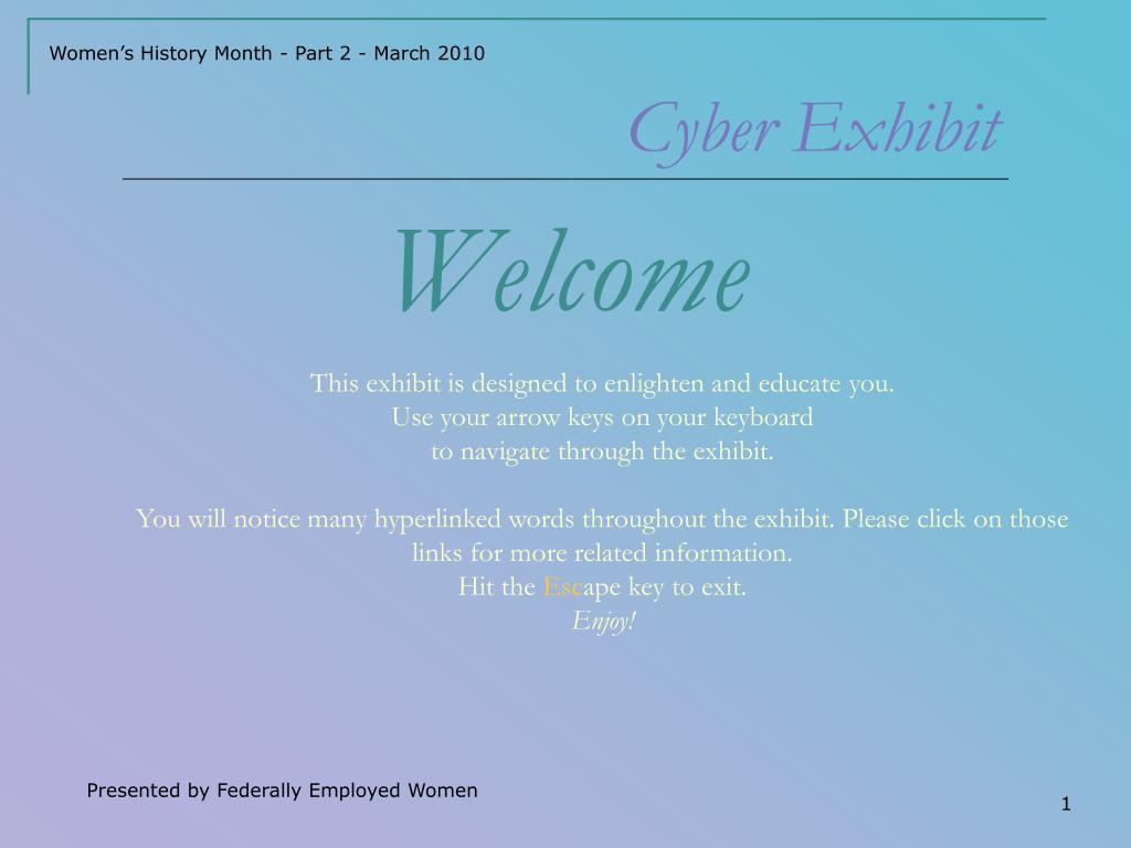Cyber Exhibit