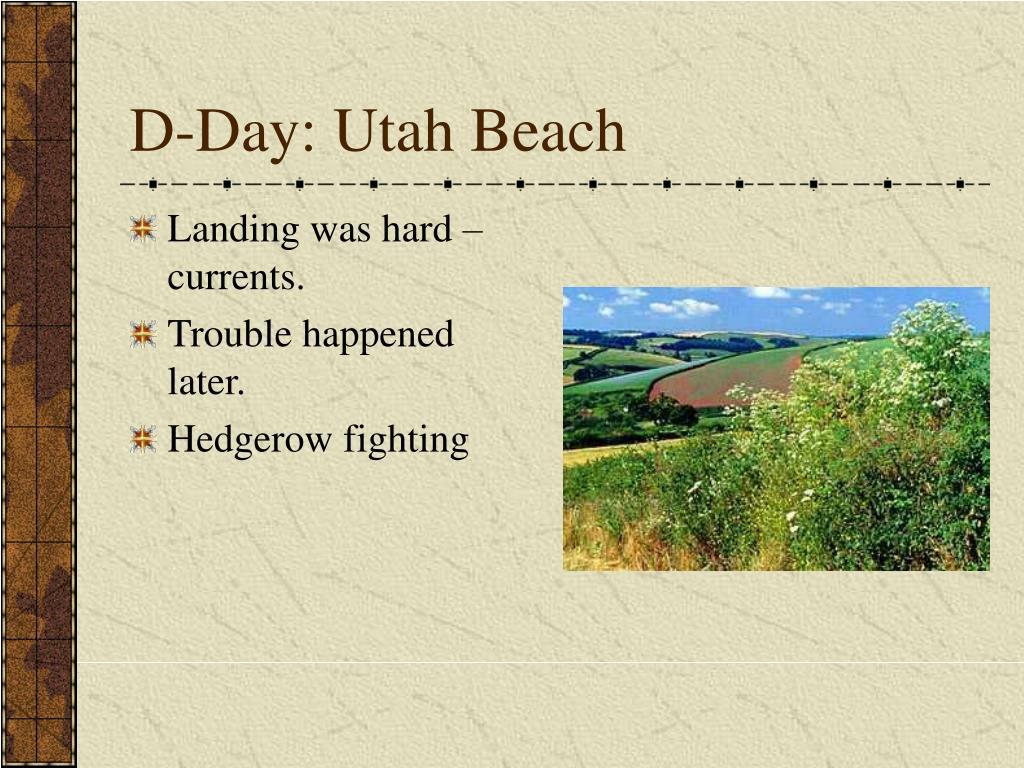 D-Day: Utah Beach