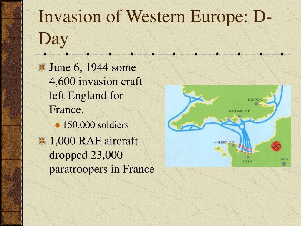 Invasion of Western Europe: D-Day
