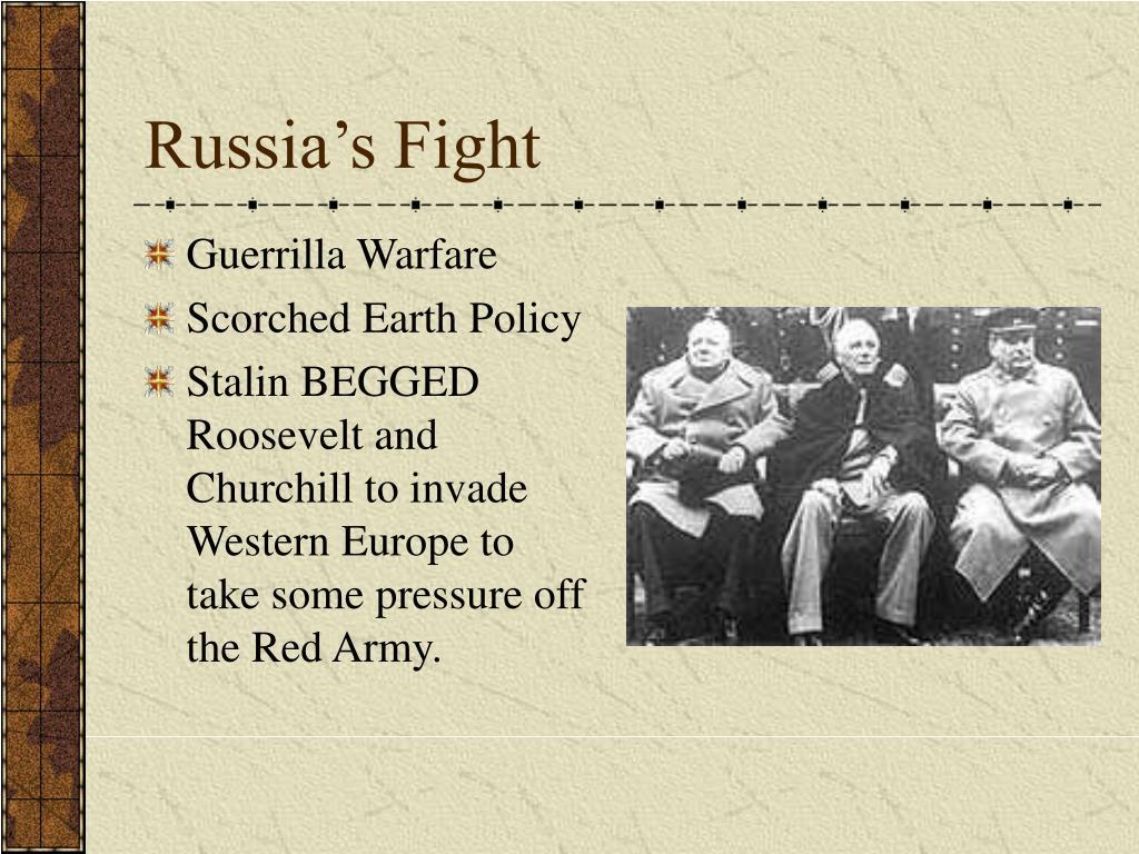 Russia's Fight