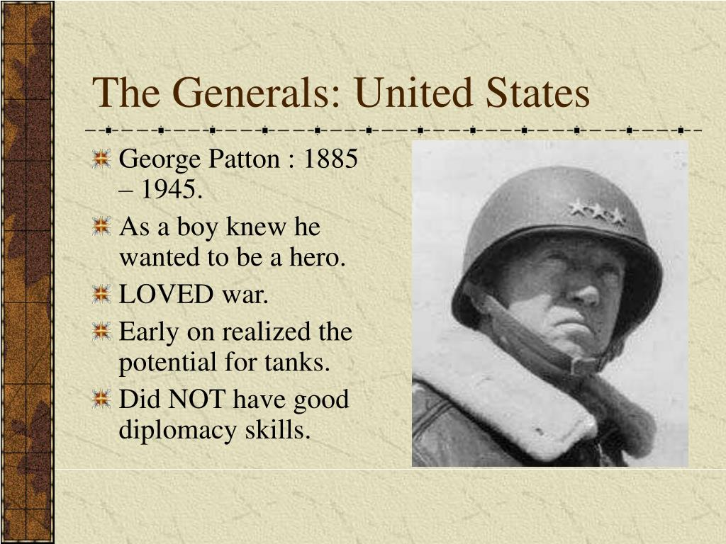 The Generals: United States