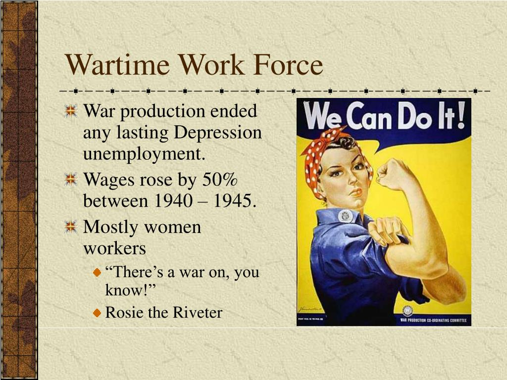 Wartime Work Force