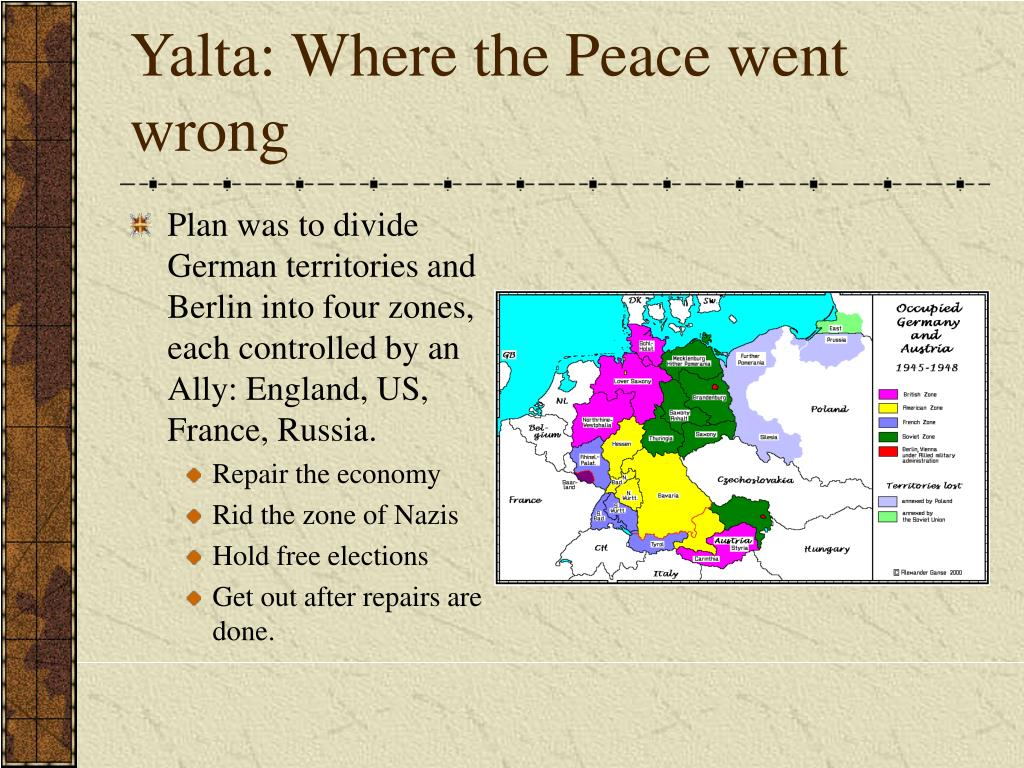 Yalta: Where the Peace went wrong