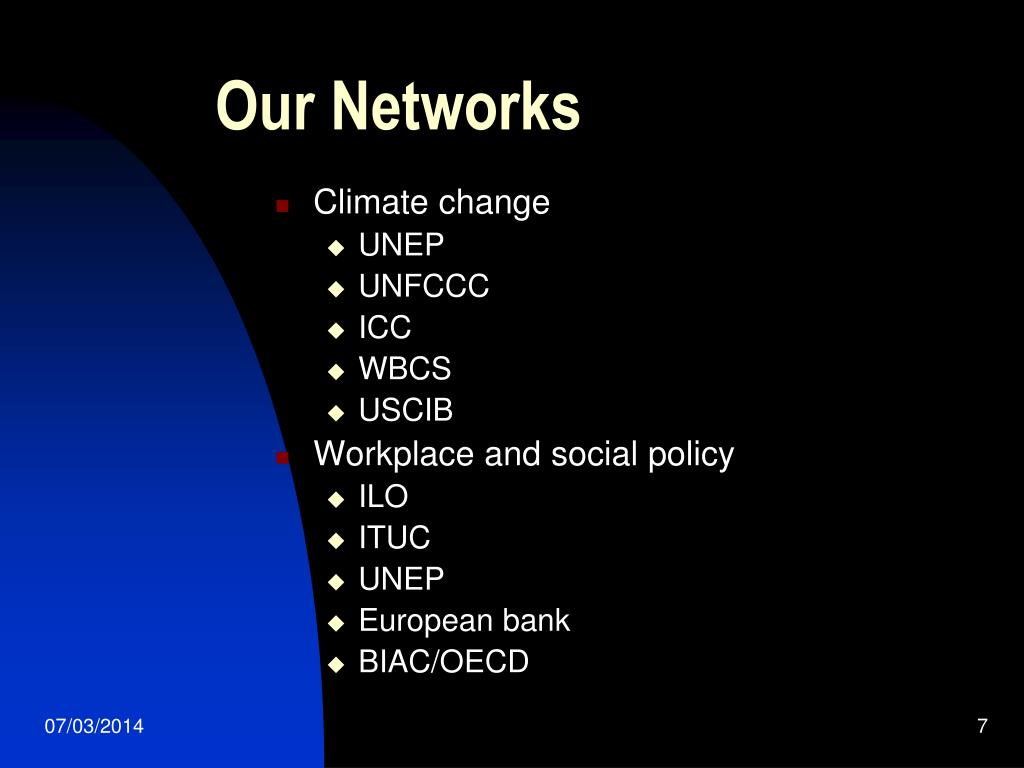 Our Networks