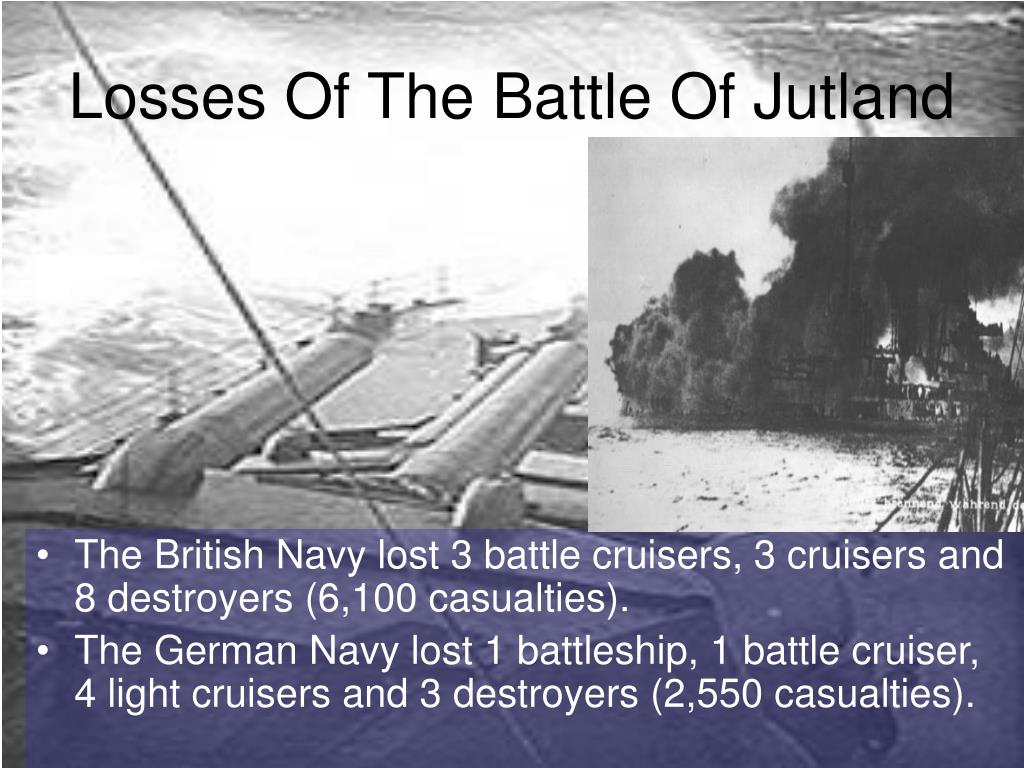 Losses Of The Battle Of Jutland