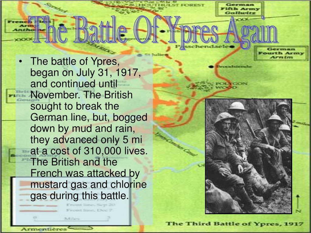 The Battle Of Ypres Again