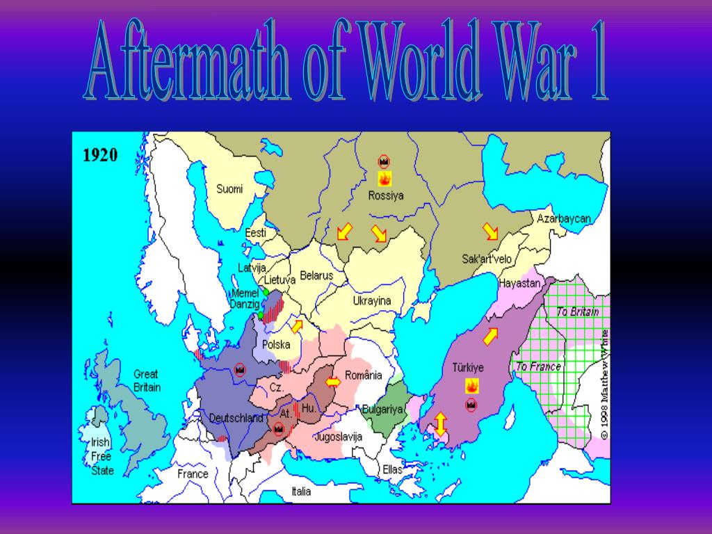 Aftermath of World War 1