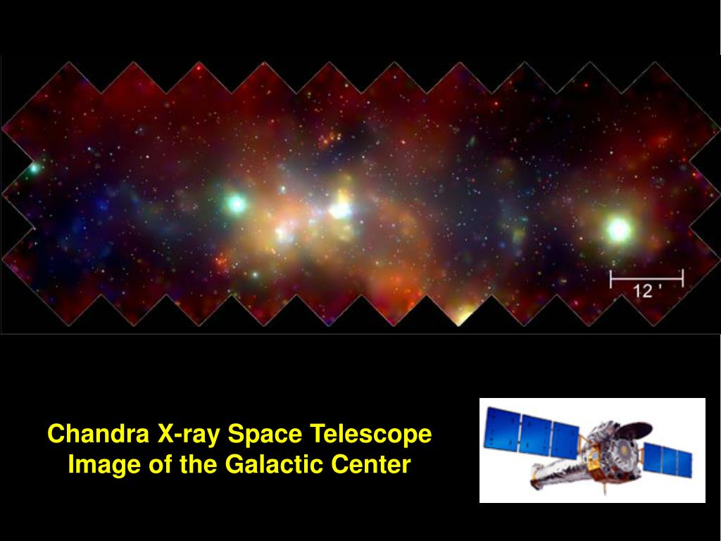 Chandra X-ray Space Telescope Image of the Galactic Center