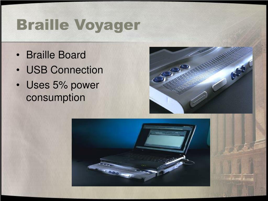 Braille Voyager
