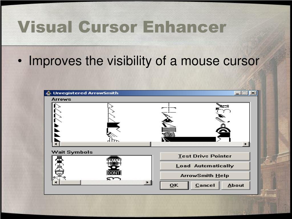 Visual Cursor Enhancer