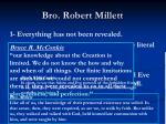 bro robert millett
