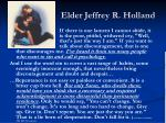 elder jeffrey r holland