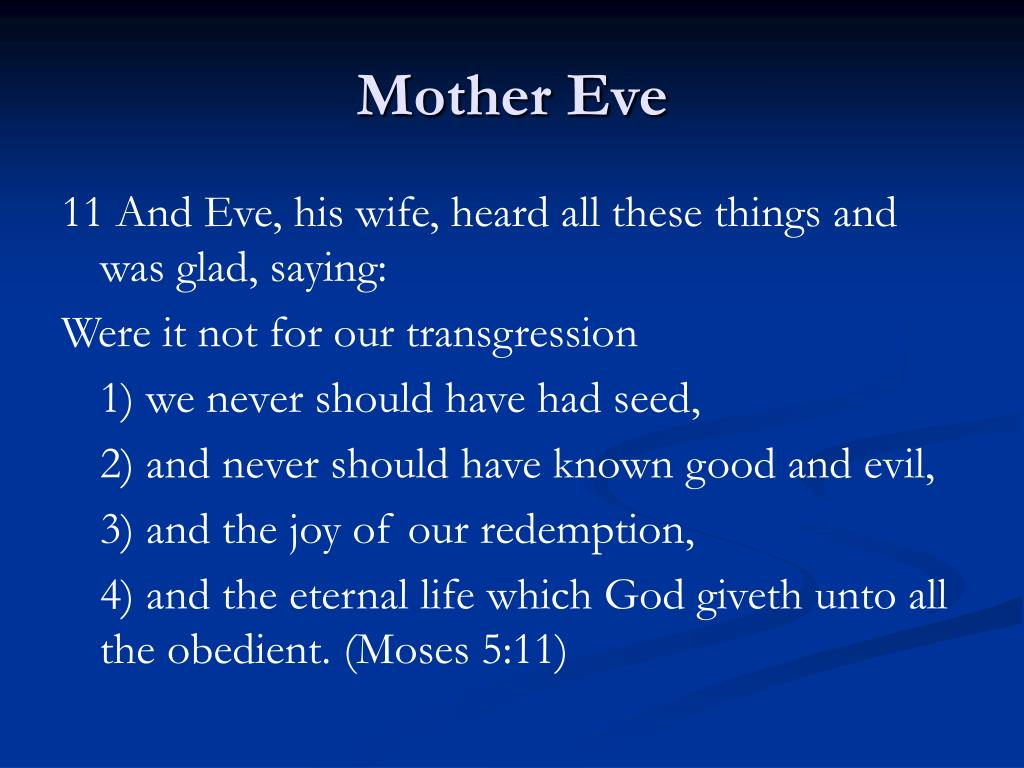 Mother Eve