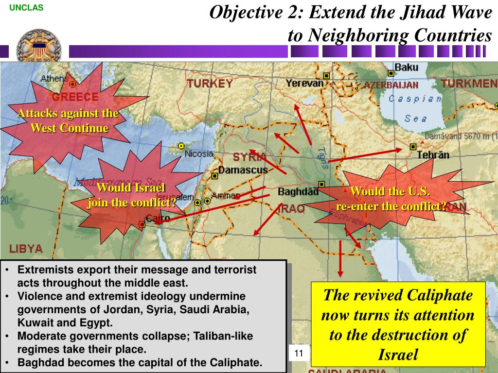 Objective 2: Extend the Jihad Wave to Neighboring Countries