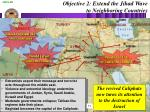 objective 2 extend the jihad wave to neighboring countries