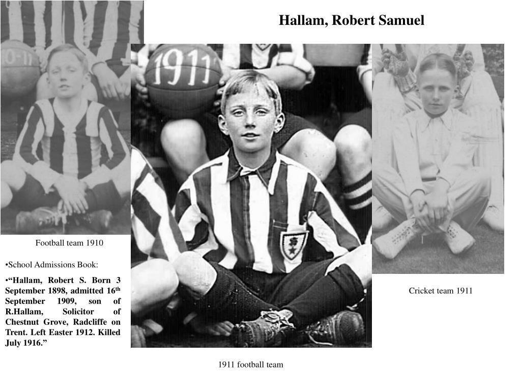 Hallam, Robert Samuel
