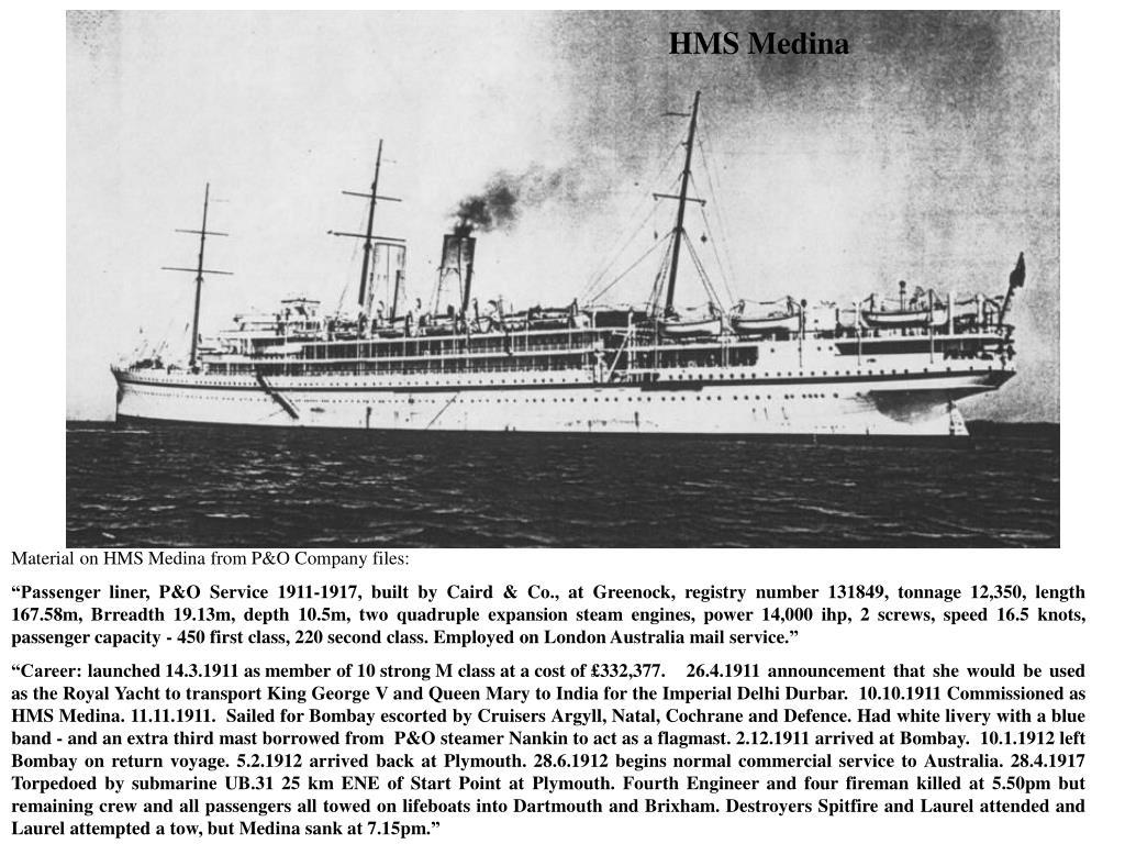 HMS Medina