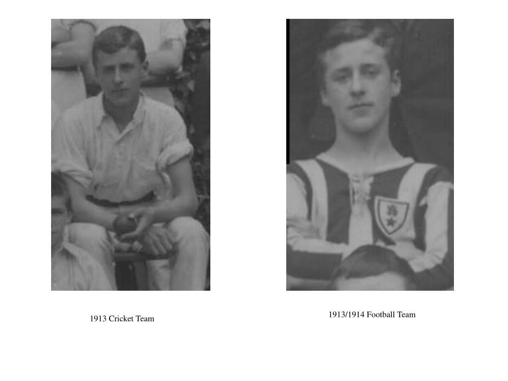 1913/1914 Football Team