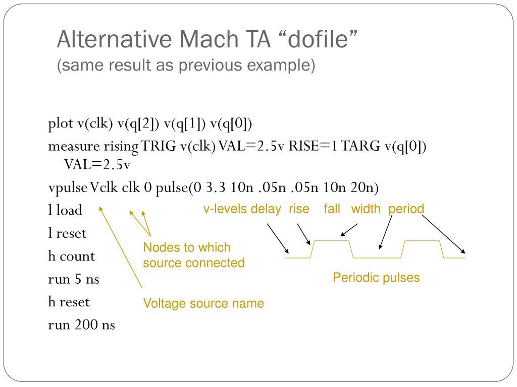 """Alternative Mach TA """"dofile"""""""