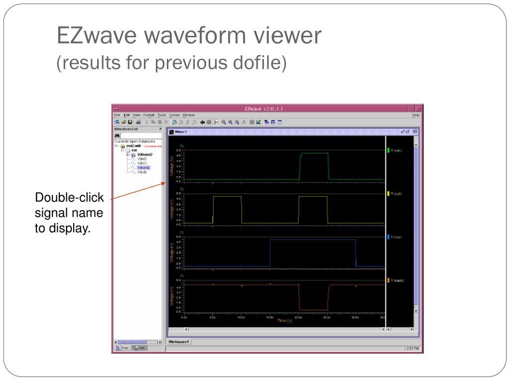 EZwave waveform viewer