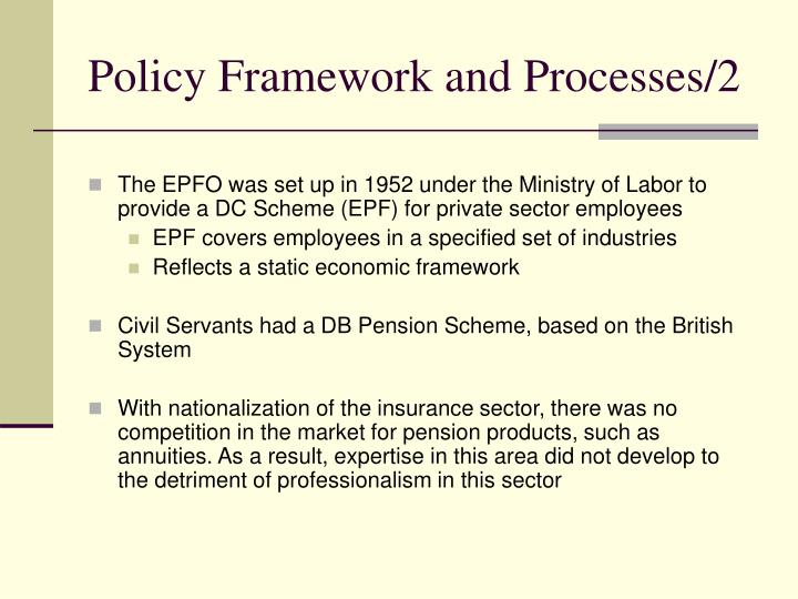 Policy Framework and Processes/2