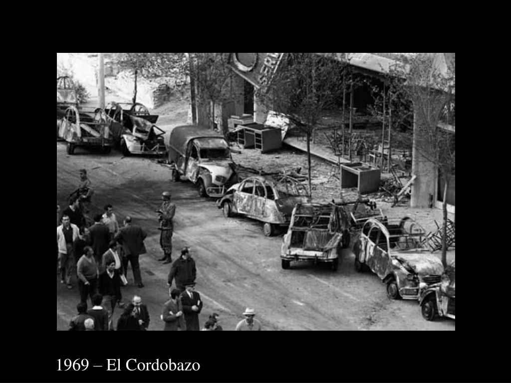 1969 – El Cordobazo