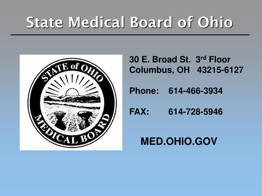 State Medical Board of Ohio