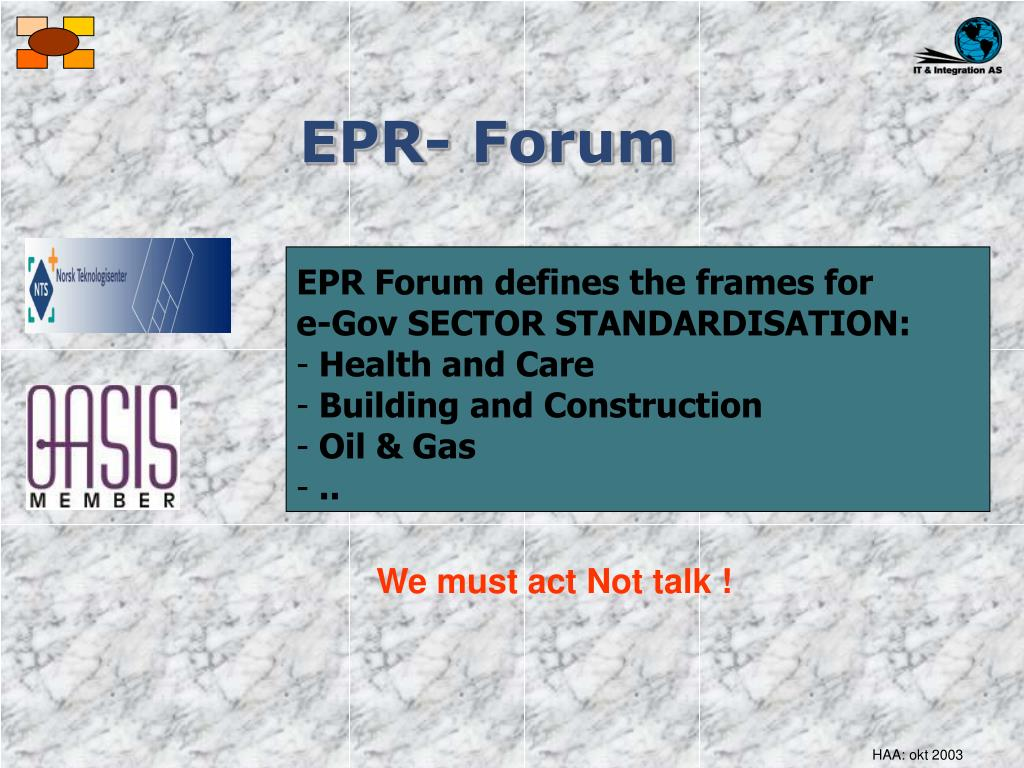 EPR- Forum