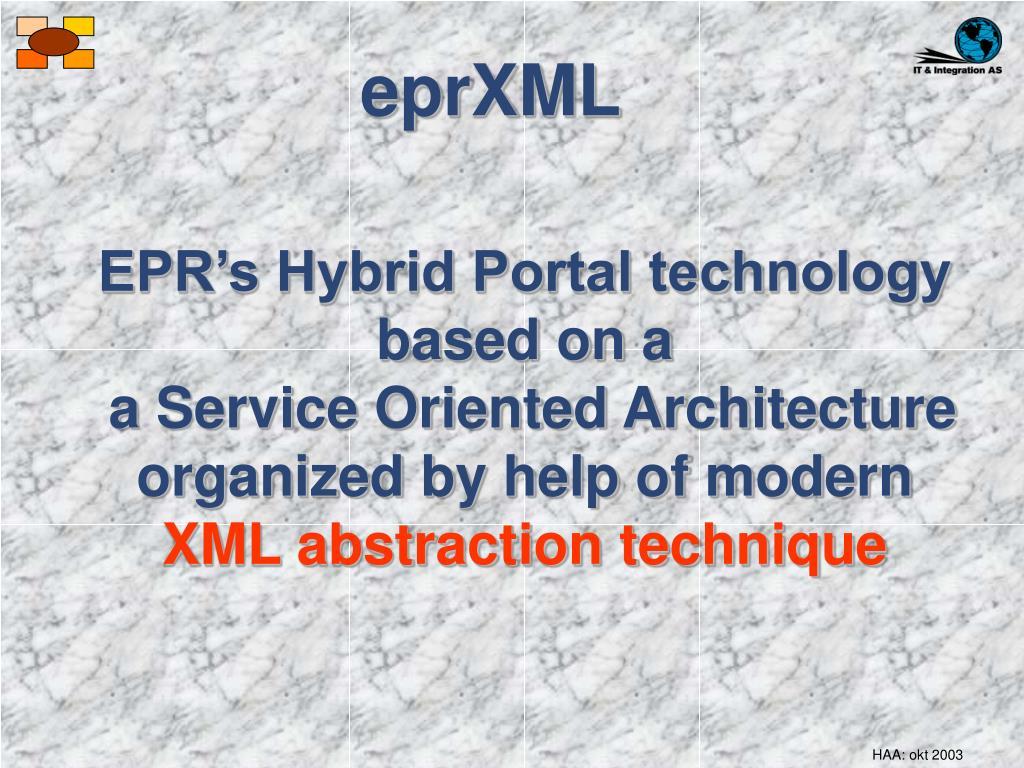 eprXML