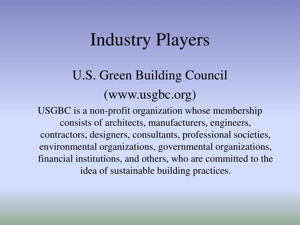 Industry Players