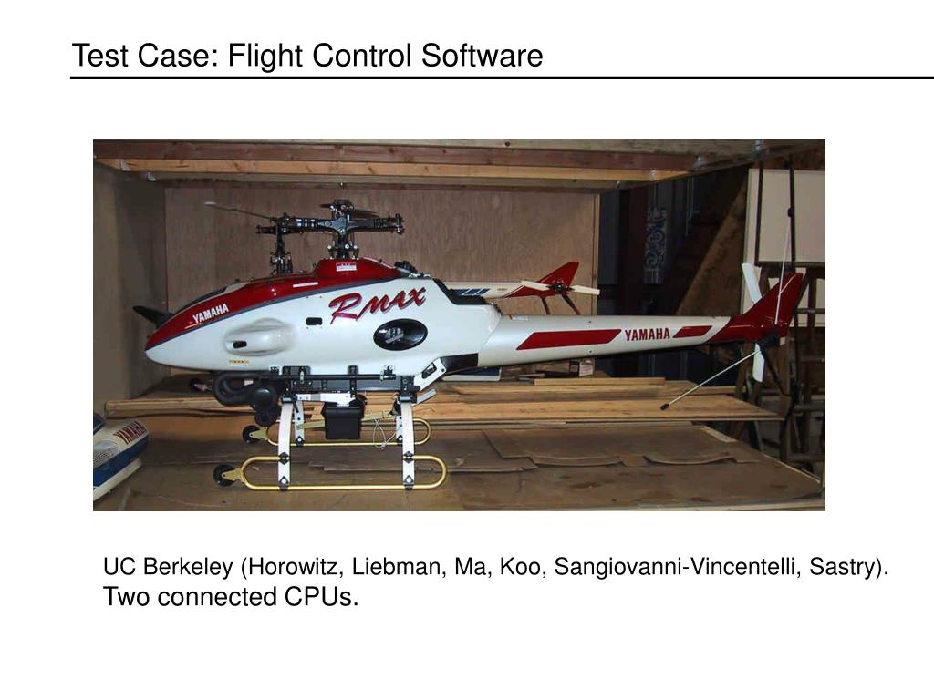 Test Case: Flight Control Software