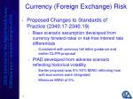 currency foreign exchange risk15