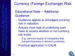 currency foreign exchange risk18