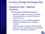 currency foreign exchange risk19