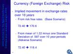 currency foreign exchange risk26