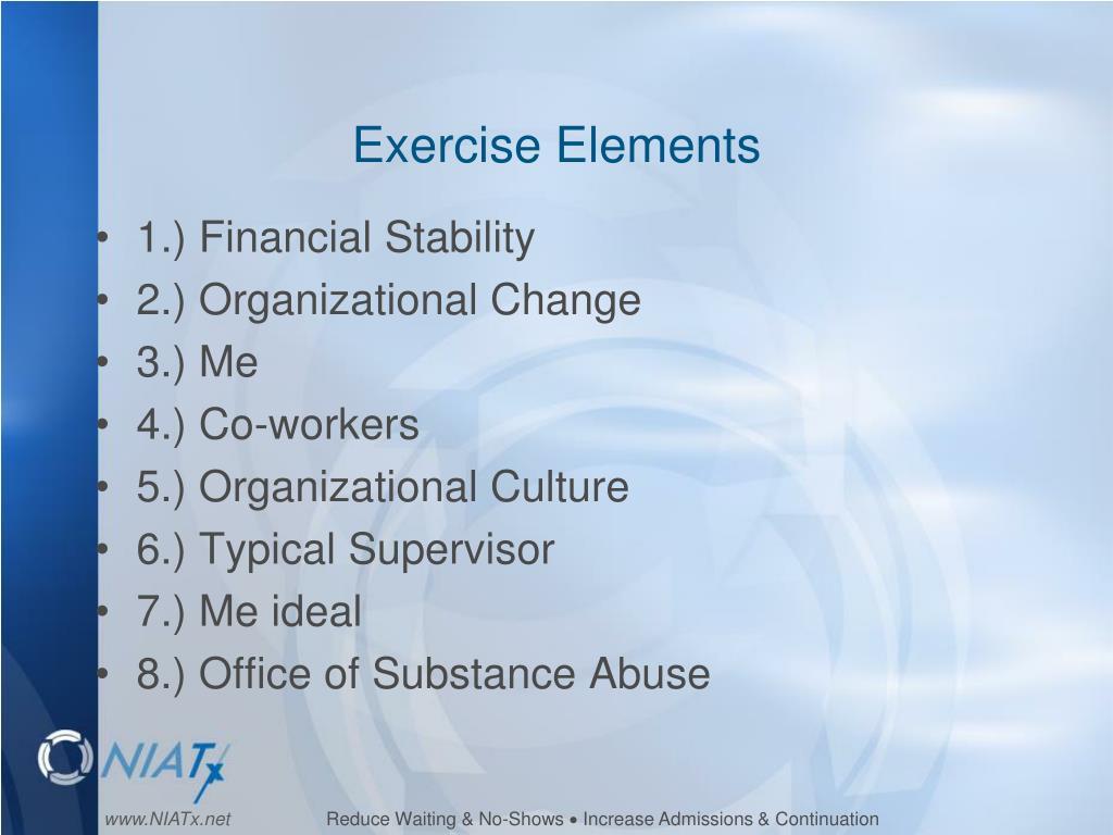 Exercise Elements