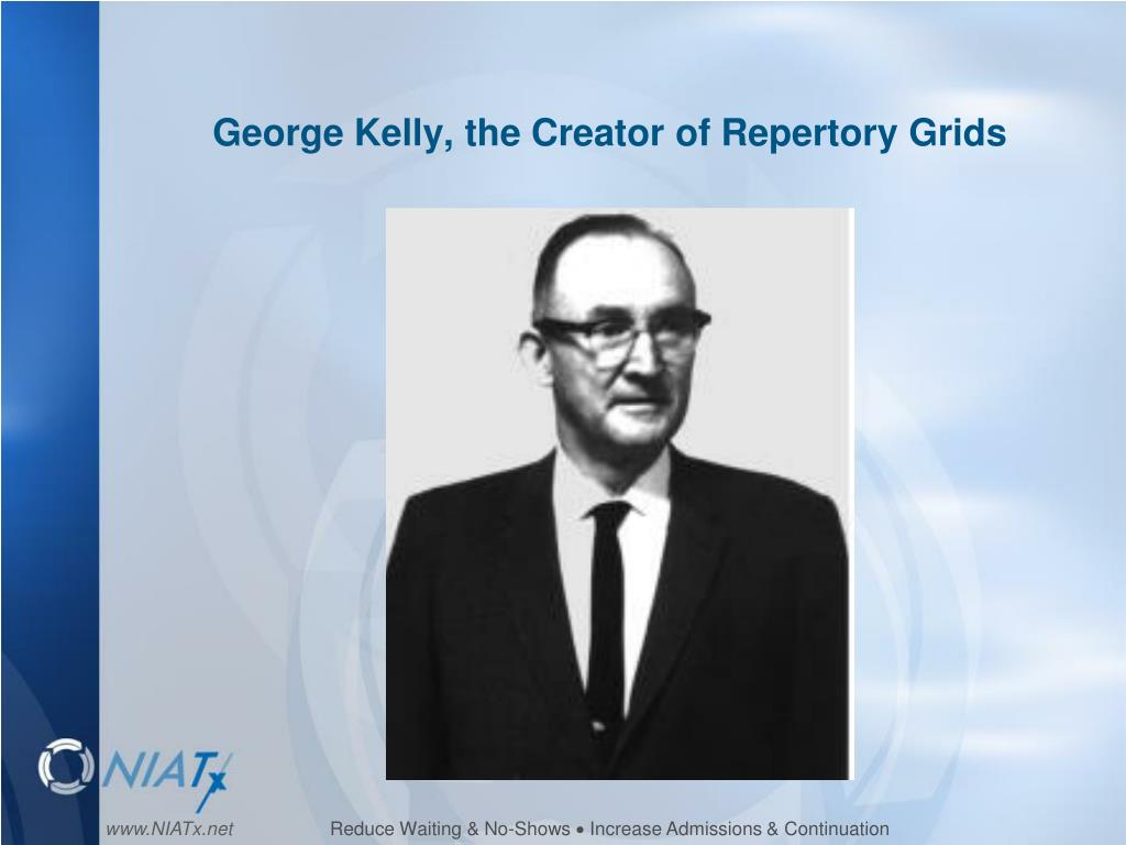 George Kelly, the Creator of Repertory Grids