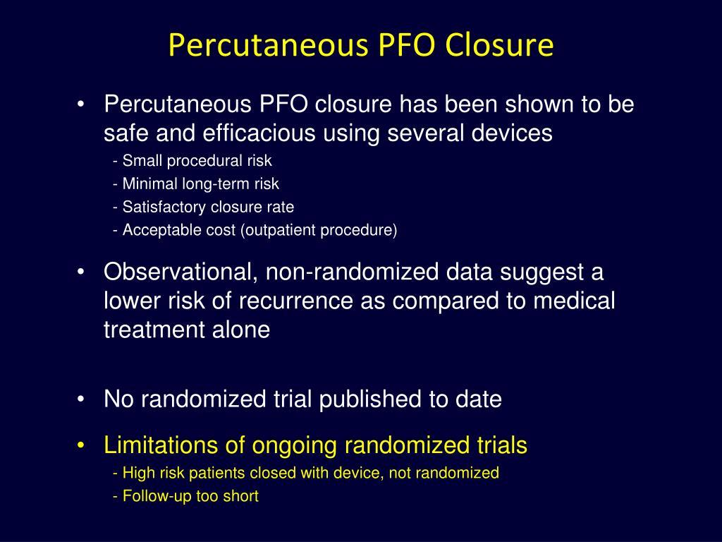 Percutaneous