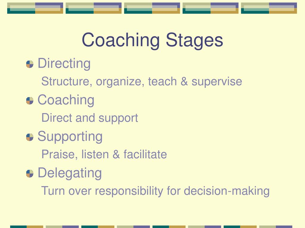 Coaching Stages