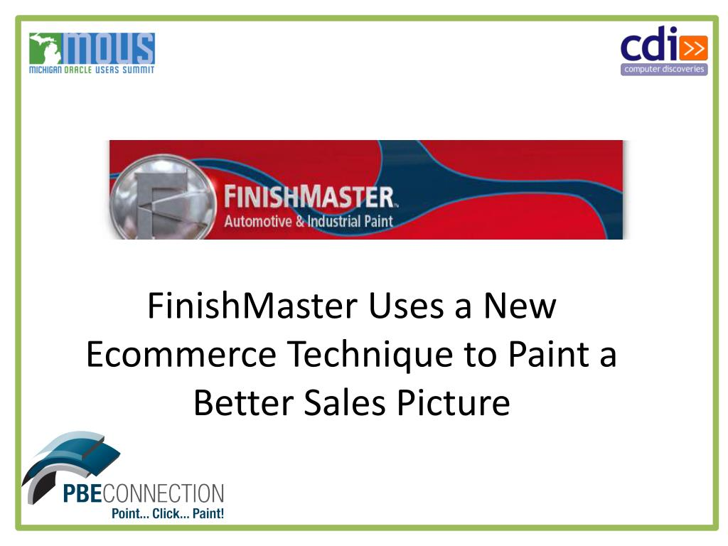 FinishMaster Uses a New Ecommerce Technique to Paint a Better Sales Picture