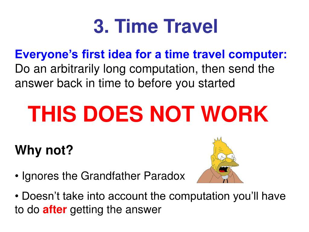 3. Time Travel
