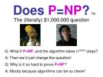 does p np