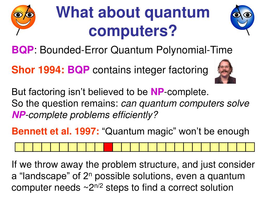 What about quantum computers?