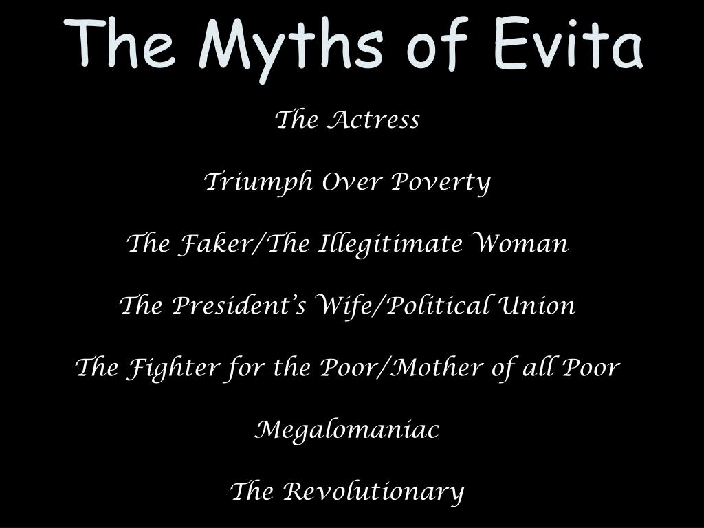 The Myths of Evita